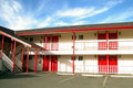 Vacant motel Royalty Free Stock Photography
