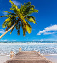 Vacation at beach in thailand asia Royalty Free Stock Images