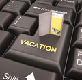 Vacation enter key online reservation for Stock Photos