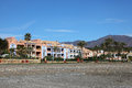 Vacation homes on Costa del Sol, Spain Stock Image
