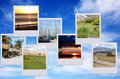 Vacation photos Royalty Free Stock Images