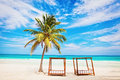 Vacations and tourism concept caribbean paradise tropical resort mexico riviera maya Stock Images