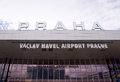 Vaclav Havel Airport Prague Royalty Free Stock Photography