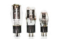 Vacuum electronic preamplifier tubes Royalty Free Stock Photo