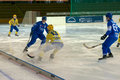 Vadim vasilyev moscow february in action during the russian bandy league game dynamo moscow vs zorky krasnogorsk in sport palace Stock Photos