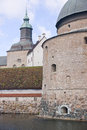 Vadstena castle summer time Royalty Free Stock Photos