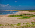 Vadu beach summer landscape at the black sea in romania Stock Photos