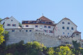 Vaduz castle in liechtenstein beautiful Royalty Free Stock Photo