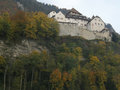 Vaduz castle old in lichtenstein Stock Photos