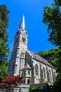 Vaduz Cathedral, or Cathedral. Royalty Free Stock Photo