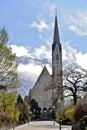 Vaduz Cathedral Royalty Free Stock Photo