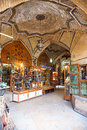 Vakili bazaar-The oldest shopping mall in Shiraz Royalty Free Stock Photography