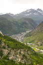 Val d'Isere Royalty Free Stock Photography