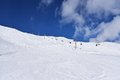 Val senales italy sunny slopes in south tyrol in Stock Photos