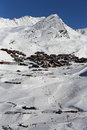 Val thorens Fotografia de Stock Royalty Free