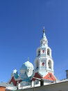 Valaam monastery with bellfry the or valamo is a stauropegic orthodox in russian karelia located on the largest Stock Photography