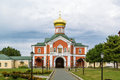 Valday iversky monastery russia is a russian orthodox founded by patriarch nikon in gate church of st philip Royalty Free Stock Image