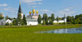 Valday iversky monastery in valdai russia russian orthodox church Royalty Free Stock Photography