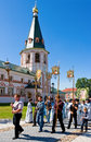 Valday russia august annual sacred religious procession icon our lady iver passing novgorod region valday august valday russia Royalty Free Stock Image