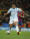 Valdo of Malaga CF Royalty Free Stock Photo