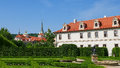 Valdstejn garden. Prague, Czech Republic Hradcany, Mala Strana. Royalty Free Stock Photo