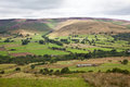 Vale of edale in derbyshire england Stock Photo