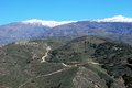 Vale of Lecrin, Las Alpujarras, Andalusia, Spain. Royalty Free Stock Images