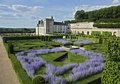 Valencay castle and park Royalty Free Stock Photo