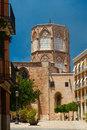 Valencia Cathedral church of Santa Maria, Spain Royalty Free Stock Photo