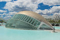 Valencia: City of Arts and Sciences Stock Photo
