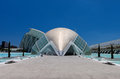 Valencia Hemispheric - City of Arts and Science Stock Photos