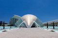 Valencia Hemispheric - City of Arts and Science, Spain Royalty Free Stock Photos