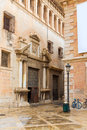 Valencia patriarca museum in calle nave street spain nau Royalty Free Stock Photography