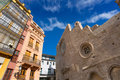 Valencia santa catalina church spain plaza lope de vega in Royalty Free Stock Image