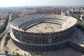 Valencia stadium spain july the football under construction on july in spain the when completed will Stock Photography