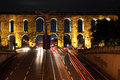 The Valens Aqueduct, Istanbul Royalty Free Stock Image