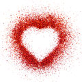 Valentin heart Stock Image