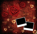 Valentine background card Stock Photography