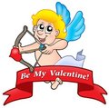 Valentine banner 01 Royalty Free Stock Photo