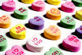 Valentine Candy I Love You Stock Image