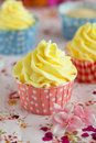 Valentine cupcake Royalty Free Stock Photo