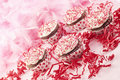Valentine Cupcakes Royalty Free Stock Photos
