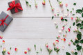 Valentine Day Background, Gift...