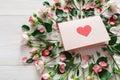 Valentine Day Background, Hear...