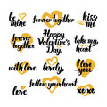 Valentine Day Hand Drawn Quotes