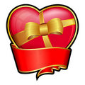Valentine day heart Stock Images