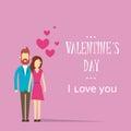 Valentine day holiday silhouette couple liebhaber umarmungs herz form Lizenzfreie Stockfotos