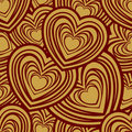 Valentine day seamless pattern Stock Photo