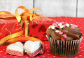 Valentine Day Treats Stock Images