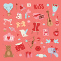 Valentine Day vector pattern